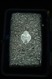 Sale 7877 - Lot 61 - Anglo Indian Silver Cigar Case