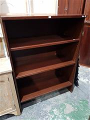 Sale 8740 - Lot 1665 - Timber Open Bookcase