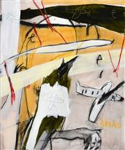 Sale 8316 - Lot 508 - Vitor Dos Santos (XX) - Drawing on Conversation, 2009 170 x 140cm