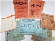 Sale 8900 - Lot 16 - Collection of Swans & Malleys Vintage Catalogues