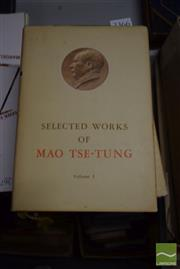 Sale 8497 - Lot 2366 - Full Set of Mao Tse-Tung Selected Works, (5 vols, 4 First Editions)