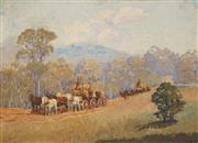 Sale 8595 - Lot 2004 - Attributed to Robert Little (1854 - 1944) - Country Scene 26.5 x 36.5cm