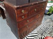 Sale 8740 - Lot 1416 - Mahogany Chest of 8 Drawers