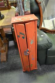 Sale 8019 - Lot 1094 - Small Painted Cabinet