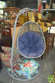 Sale 8331 - Lot 1347 - Hanging Egg Chair