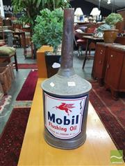 Sale 8451 - Lot 1067 - Mobil Display Oil Can