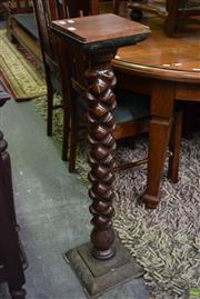 Sale 8566 - Lot 1506 - Timber Plant Stand (98)