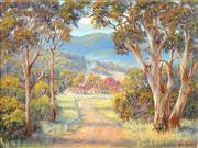 Sale 8773 - Lot 630 - John Bradley (1945 - ) - Country Road, Ovens Valley 29 x 39cm