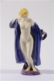 Sale 9003 - Lot 10 - Royal Doulton Archives figure from The Bathers Collection of The Bather (HN4244) modelled by Nada Pedley limited ed no. 111/2000,...