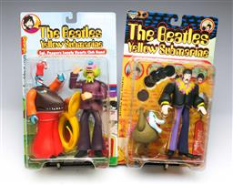 Sale 9098 - Lot 149 - Beatles Yellow Submarine Figures In Box (2)