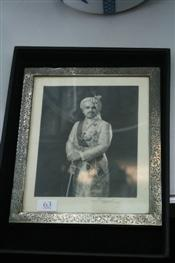 Sale 7877 - Lot 63 - Indian Silver Picture Frame