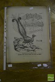 Sale 8548 - Lot 2088 - Gracius Broinowski The Birds of Australia no. 5, volume 2