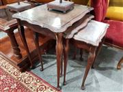 Sale 8740 - Lot 1343 - Nest of 3 Tables (a/f)