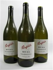 Sale 8278A - Lot 87 - 3x 2001 Penfolds Bin 01A Chardonnay, Adelaide Hills - sample bottles