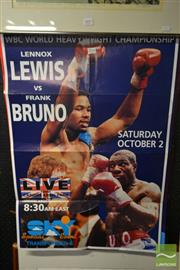 Sale 8525 - Lot 2058 - Boxing Posters Mainly American
