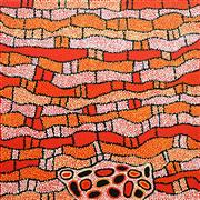 Sale 8575 - Lot 521 - Nelli Nakamarra (c1976 - ) - Womens Ceremony, 2008 100 x 100cm (stretched & ready to hang)