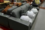 Sale 8159 - Lot 1085 - 4 Piece Lounge Setting incl. 3 Seater Sofa, Pair Armchairs & Ottoman