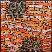 Sale 8549 - Lot 565 - Nelli Nakamarra (c1976 - ) - Womens Ceremony, 2008 100 x 100cm (stretched & ready to hang)