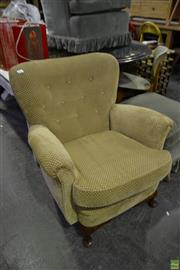 Sale 8566 - Lot 1671 - Vintage Wing Back Armchair