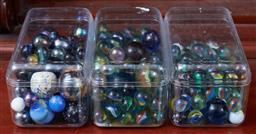 Sale 9103H - Lot 8 - A small quantity of marbles.