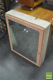 Sale 8392 - Lot 1052 - Mirrored Front Medicine Cabinet