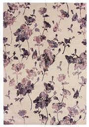 Sale 8563A - Lot 3 - The Florence Broadhurst Collection Design; Floral 300 Made in; Nepal Colour; Mauve Made from; Tibetan Wool & Chinese Silk ...
