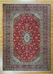 Sale 8617C - Lot 11 - Persian Kashan 350x245