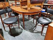 Sale 8765 - Lot 1082 - G-Plan Teak Table and Set of Six Chairs