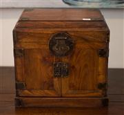 Sale 7984 - Lot 13 - A CHINESE HUANGHUALI TABLE-TOP CHEST 'GUANPIXIANG'