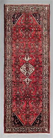 Sale 8499C - Lot 10 - Persian Husseinbad 295cm x 140cm