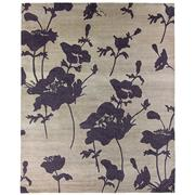 Sale 8563A - Lot 4 - The Florence Broadhurst Collection Design; Floral 300 Made in; Nepal Colour; Fawn Made from; Tibetan Wool, Chinese Silk & Ne...