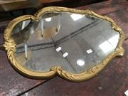 Sale 8740 - Lot 1598 - Small Gilt Framed Mirror