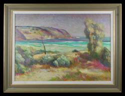 Sale 7923 - Lot 562 - Edmund Harvey - Merimbula 60 x 84cm