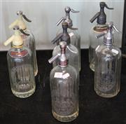 Sale 7950 - Lot 91 - Collection of Vintage Schwepps Soda Siphons