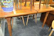 Sale 8161 - Lot 1090 - Maple Extension Dining Table