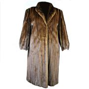 Sale 8372 - Lot 68 - Full Length Mink Fur Coat