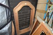 Sale 8419T - Lot 2047 - Raw Finish Shaped Wooden Frames (4)