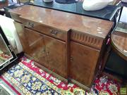 Sale 8566 - Lot 1379 - Small Inlayed Sideboard (121 x 36 x 84)