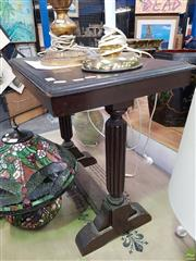 Sale 8589 - Lot 1041 - Timber Side Table