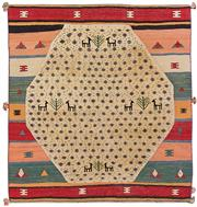 Sale 8725C - Lot 38 - A Persian Gabbeh Carpet, Hand-knotted Wool, 192x180cm, RRP $1,650