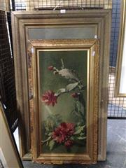Sale 8767 - Lot 2071 - 2 Floral Still Life Oil Paintings
