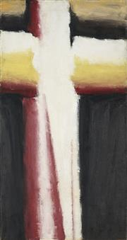 Sale 8907 - Lot 547 - John Vickery (1906 - 1983) - Cruciform Painting 48 66 x 45.5 cm