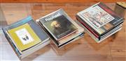 Sale 9055H - Lot 19 - A quantity of art books and catalogues.