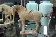 Sale 8308 - Lot 13 - Tang Style Terracotta Horse