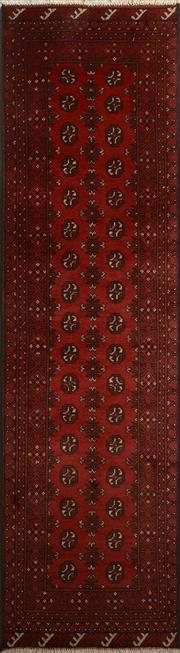 Sale 8402C - Lot 76 - Afghan Turkman Runner 285cm x 90cm