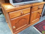 Sale 8455 - Lot 1030 - Pair of Bedsides