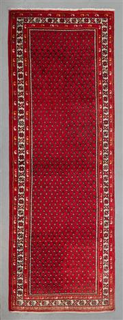 Sale 8499C - Lot 12 - Persian Hamadan Runner 307cm x 107cm