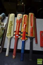 Sale 8548 - Lot 2399 - Collection of Cricket Bats