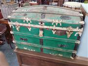 Sale 8566 - Lot 1246 - Dome Top Trunk (90)