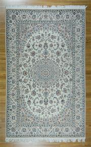 Sale 8665C - Lot 41 - Super Fine Persian Nain Silk Inlaid 329cm x 206cm